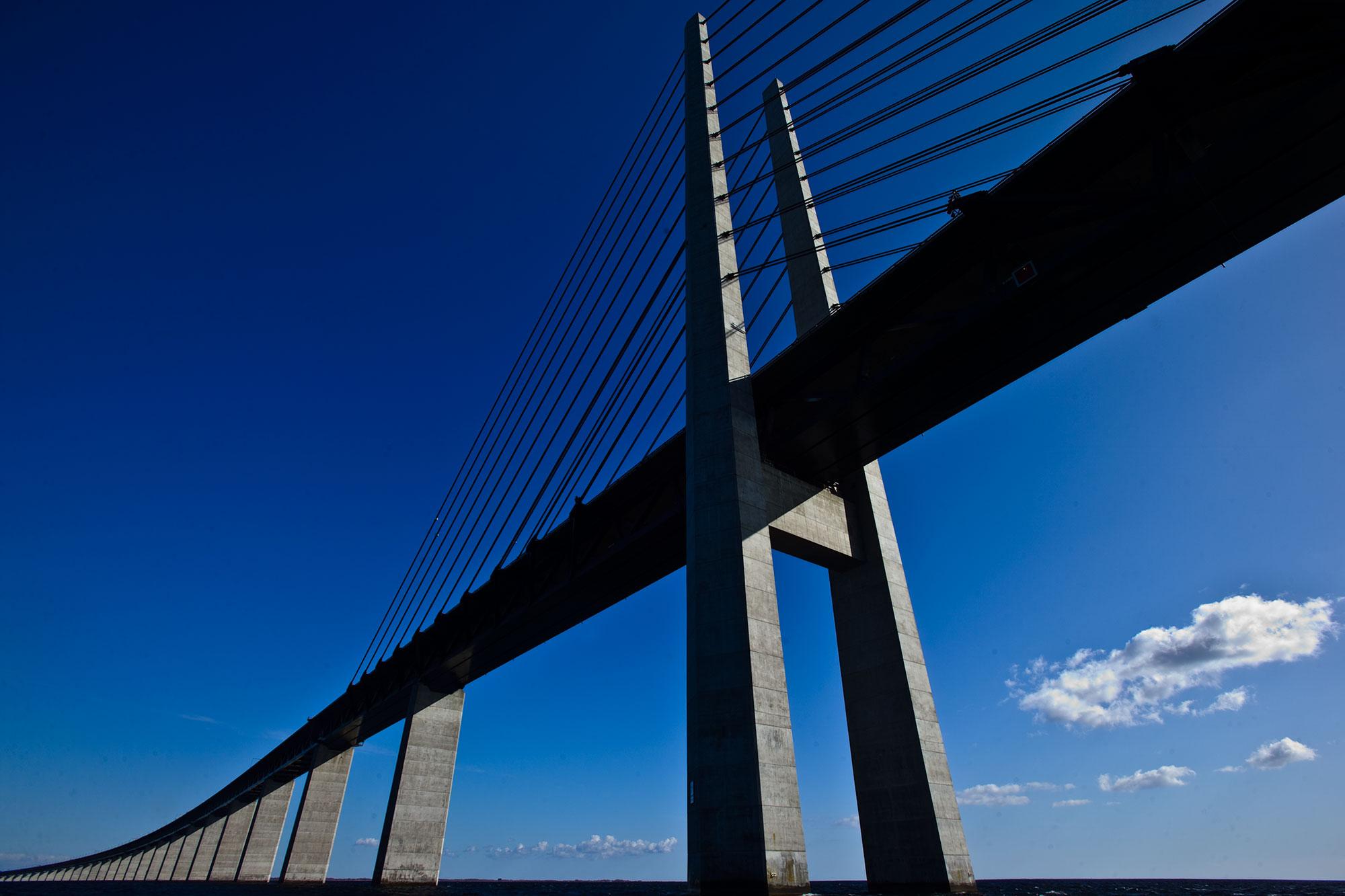 Øresundsbroen mellem Danmark og sverige - krestenhillerup