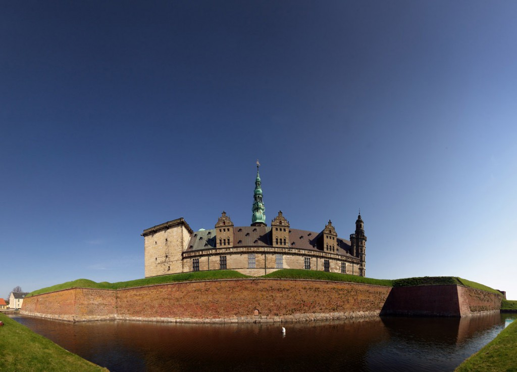 "Kronborg panorama, The Shakespeare Quote ""Something is rotten in the state of Denmark"""