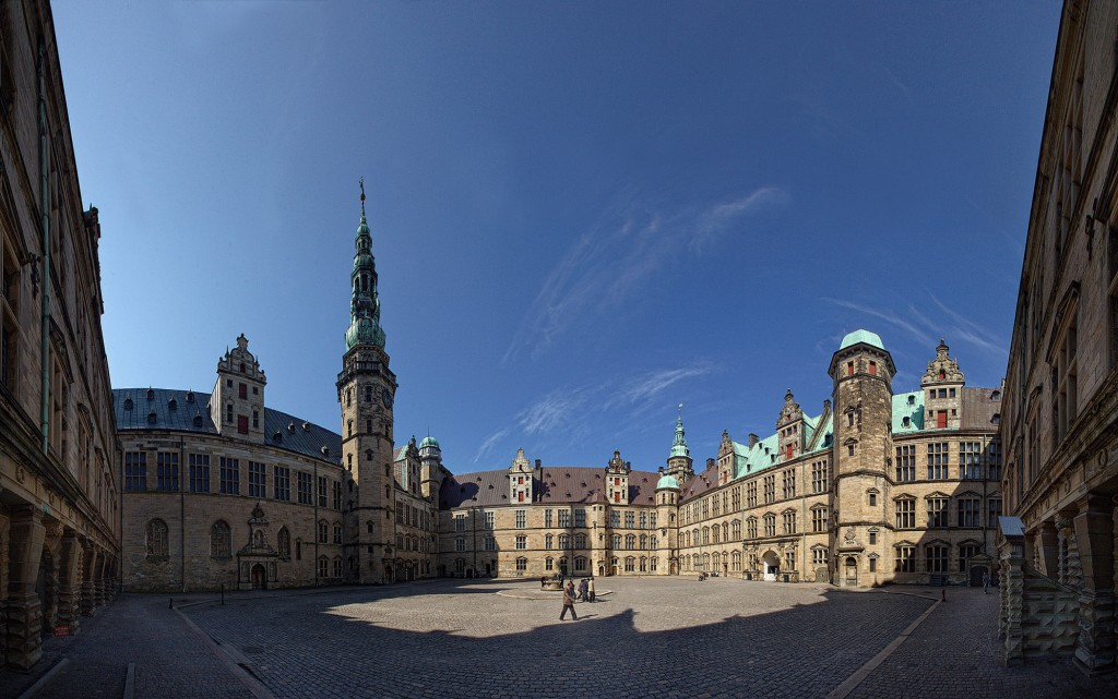Kronborg Slot/ Elsinore Castle, inside the walls