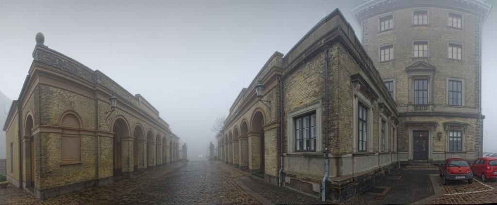 Esplanaden i tåge, efteråret 2011