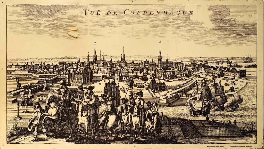 radering af København 1680