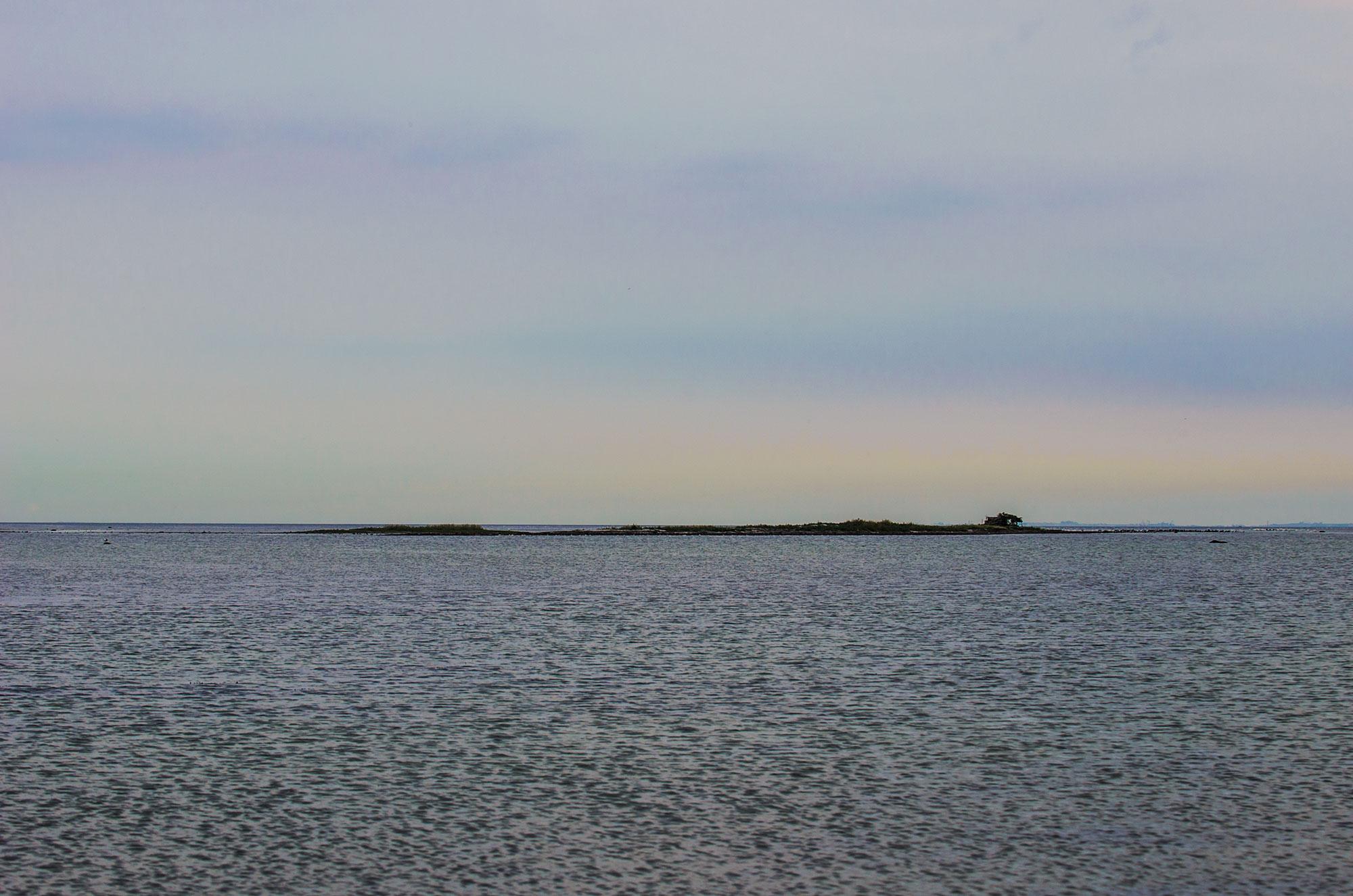 Svaneklapperne er små øer på Saltholm