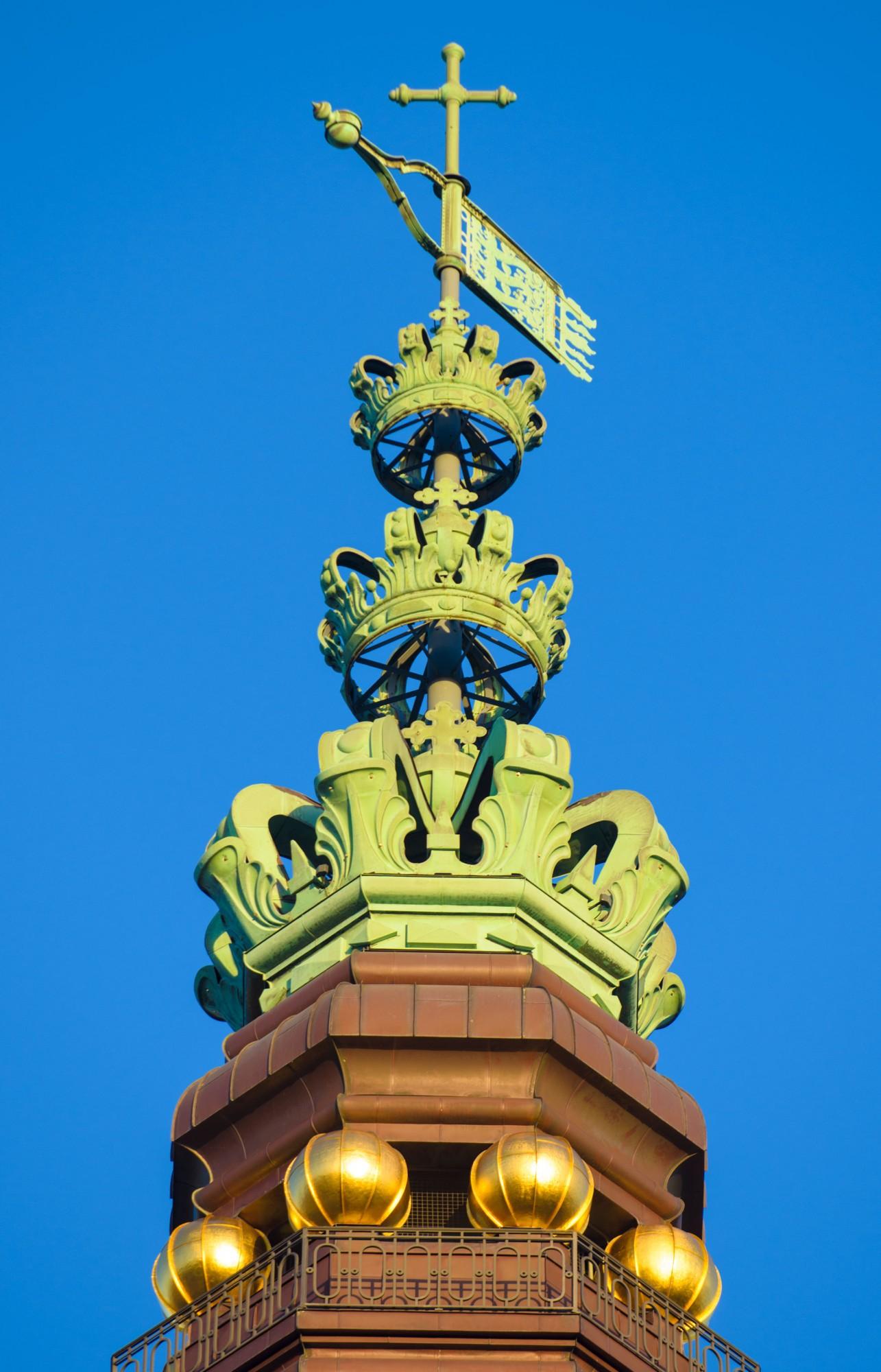 ChristiansBorg tårnspir