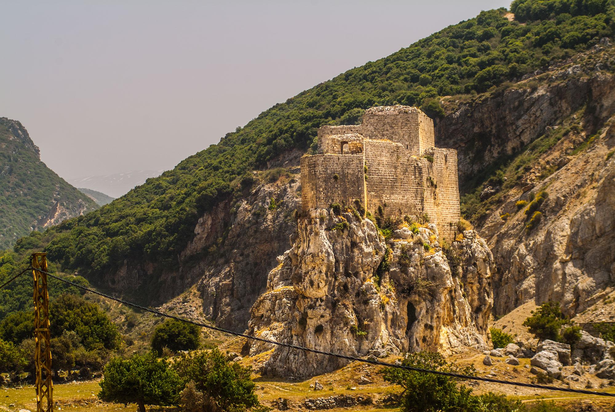 Crusader Castle in lebanon. korsridderborg i Libanon.