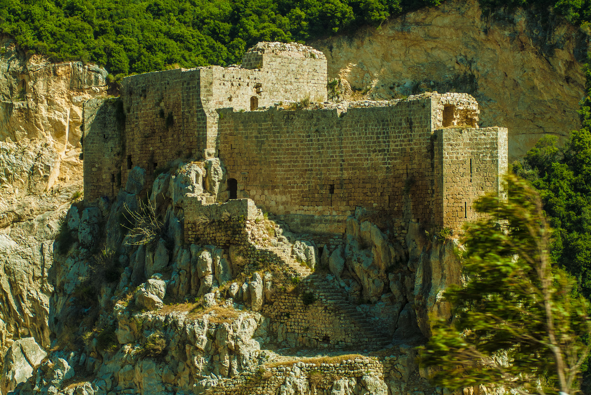 The Musailaha crusaders castle, 12th century.
