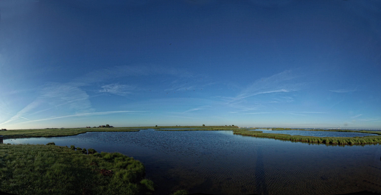 Panorama mod syd, saltholm