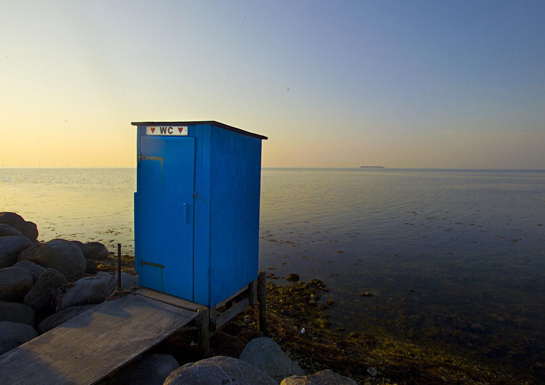 Toilettet på saltholm havn