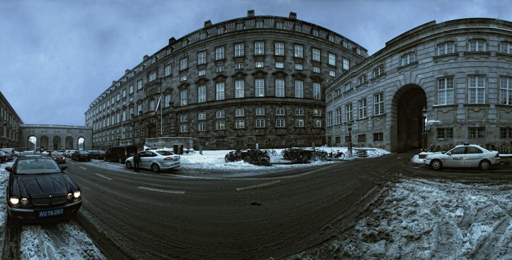 Christiansborg vinteren 2010, Panorama