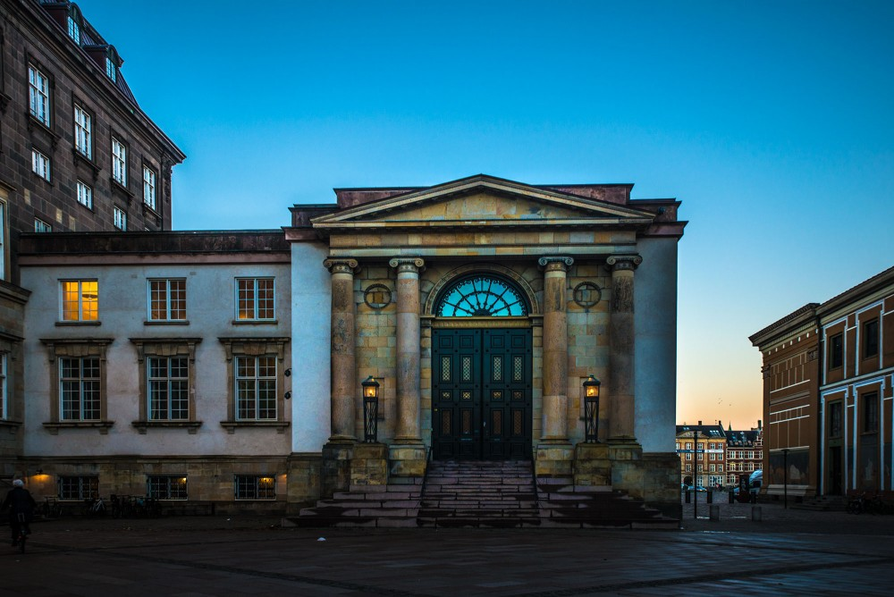 krestenhillerup.dk`s foto af højesteret københavn aften / Supreme Court of Denmark