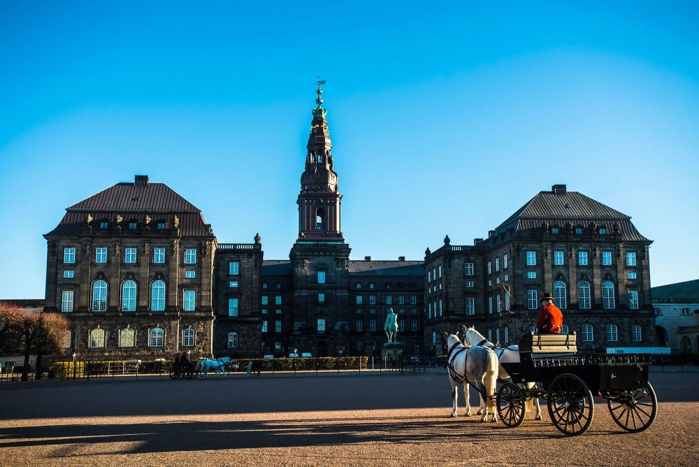Christiansborg og Hestevogn
